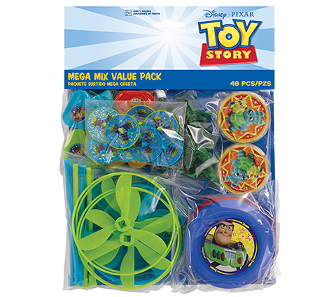 PARTY FAVOURS - TOY STORY 4 BULK MIX PACK OF 48