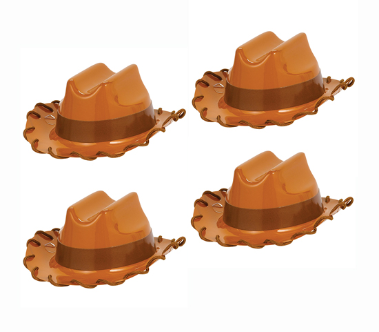 TOY STORY 4 MINI WOODY COWBOY HATS - PACK OF 4