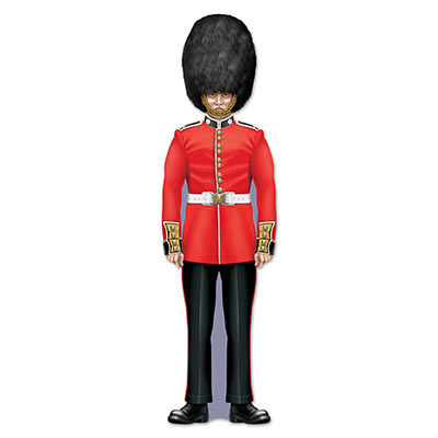 BRITISH ROYAL GUARD JOINTED CUT OUT