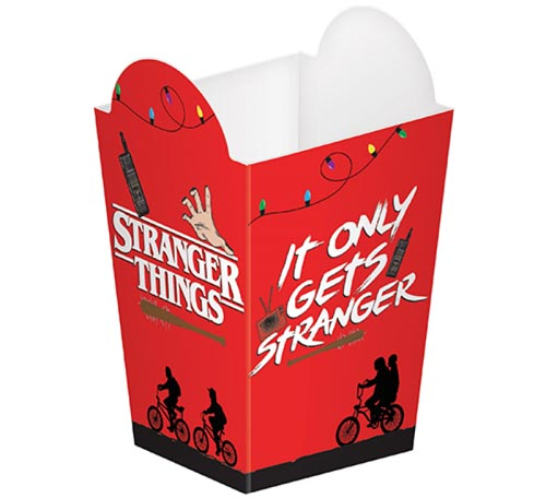 STRANGER THINGS POPCORN BOXES - PACK OF 8