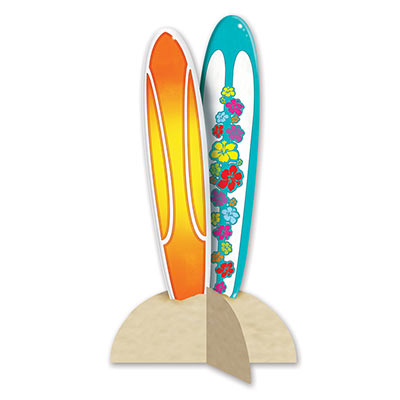 SURFBOARD 3D TABLE CENTREPIECE