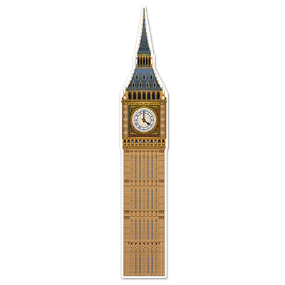 BRITISH BIG BEN JOINTED CUT OUT