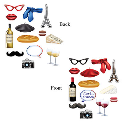 FRENCH FUN SIGNS - PACK OF 13