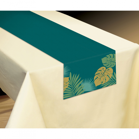 HAWAIIAN KEY WEST PALM LEAF TABLE RUNNER