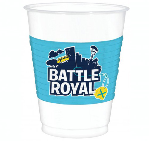 FORTNITE BATTLE ROYALE BIRTHDAY PARTY CUPS - PACK OF 8