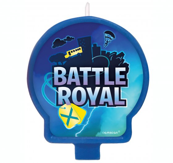 FORTNITE BATTLE ROYALE BIRTHDAY PARTY CANDLE