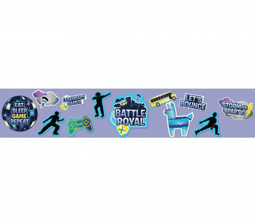FORTNITE BATTLE ROYALE BIRTHDAY PARTY CUT OUTS - PACK OF 12