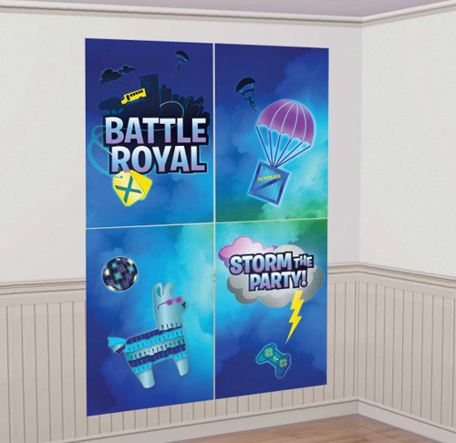 FORTNITE BATTLE ROYALE SCENE SETTER WITH PHOTO PROPS