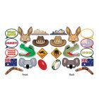 SELFIE PHOTO BOOTH PROPS - AUSTRALIAN PACK 12