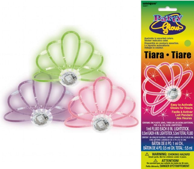 GLOW IN THE DARK TIARA