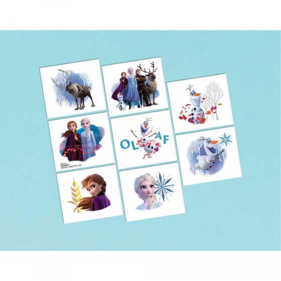 DISNEY FROZEN TATTOOS