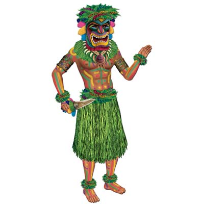 POLYNESIAN JOINTED TIKI MAN