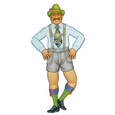Image of German Mr Oktoberfest Figure