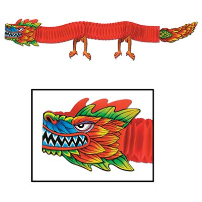 CHINESE DRAGON JOINTED 1.82M