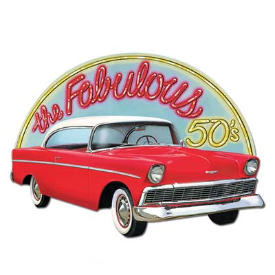 Image of Fab 50 Chevy Cutout