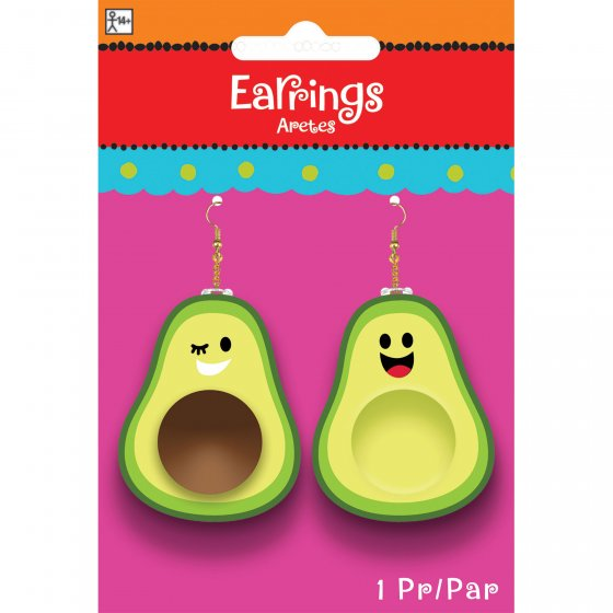 MEXICAN AVOCADO EARRINGS