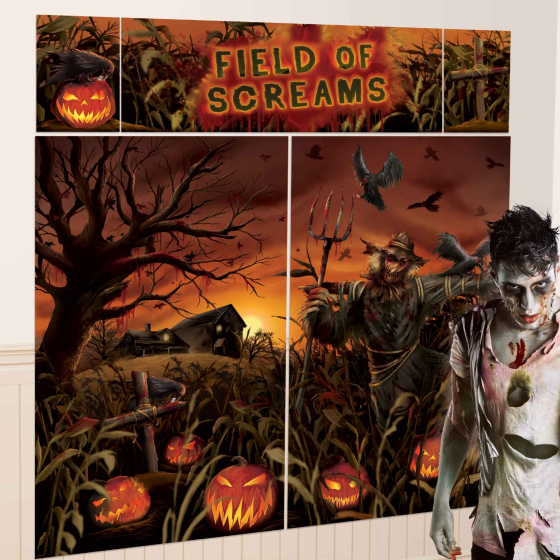 SCENE SETTER - HALLOWEEN FIELD OF SCREAMS