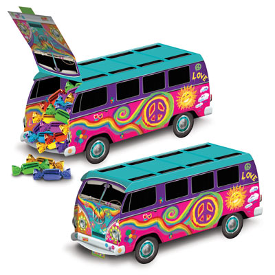 HIPPIE BUS TABLE CENTREPIECE