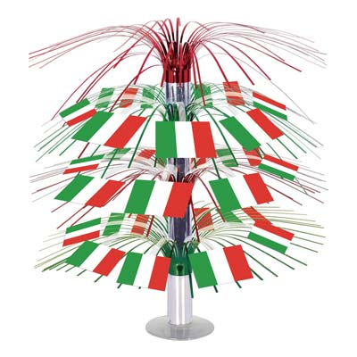 ITALIAN FLAG TABLE CENTREPIECE