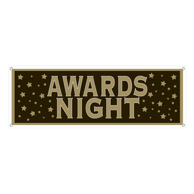 AWARDS NIGHT BANNER SIGN