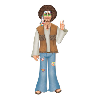 HIPPIE MALE JOINTED CUTOUT