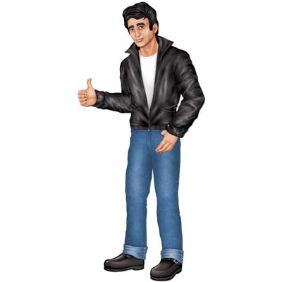 JOINTED ROCK N ROLL GREASER CUT OUT