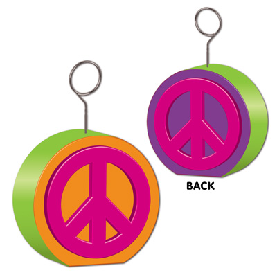 BALLOON WEIGHT - PEACE SIGN