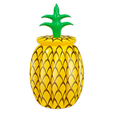 Image of Inflatable Drink Cooler Hawaiian Pineapple With Lid