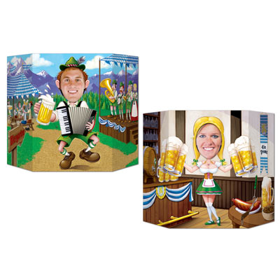 OKTOBERFEST DOUBLE-SIDED PHOTO PROP