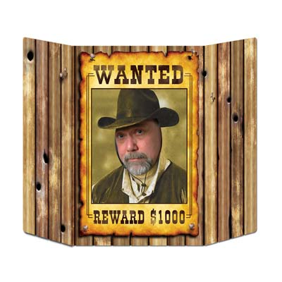 WANTED POSTER - PHOTO PROP