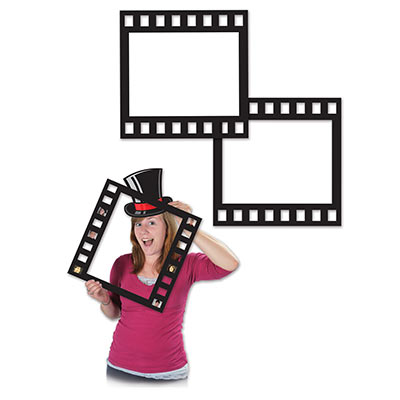 Image of Selfie Photo Booth Props  Film Strip Cutouts