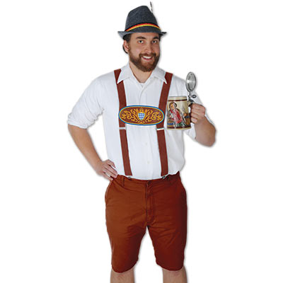 BRACES/SUSPENDERS - GERMAN LEDERHOSEN