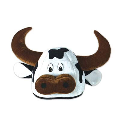 COW/ BULL PLUSH HAT