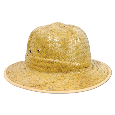 SAFARI HAT - DELUXE STRAW
