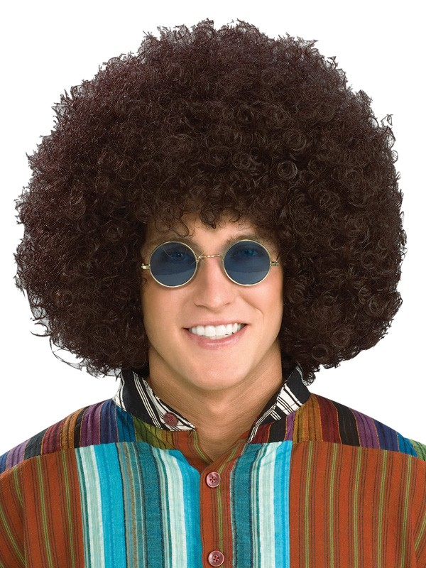 AFRO WIG - BROWN SUPER SIZE