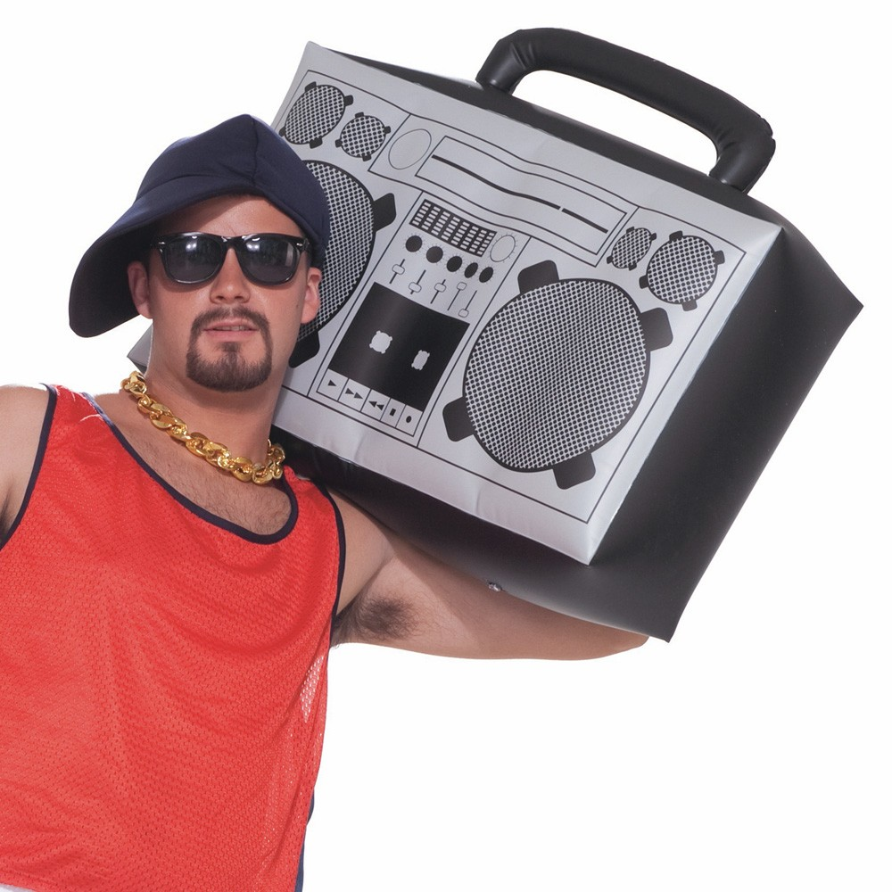 1990'S INFLATABLE HIP HOP BOOM BOX