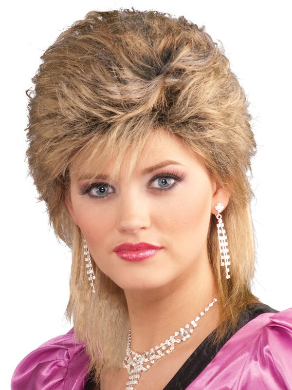 1980'S SALON BLONDE WIG