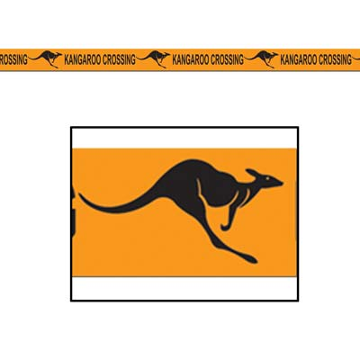 AUSTRALIAN KANGAROO CROSSING TAPE - 15M
