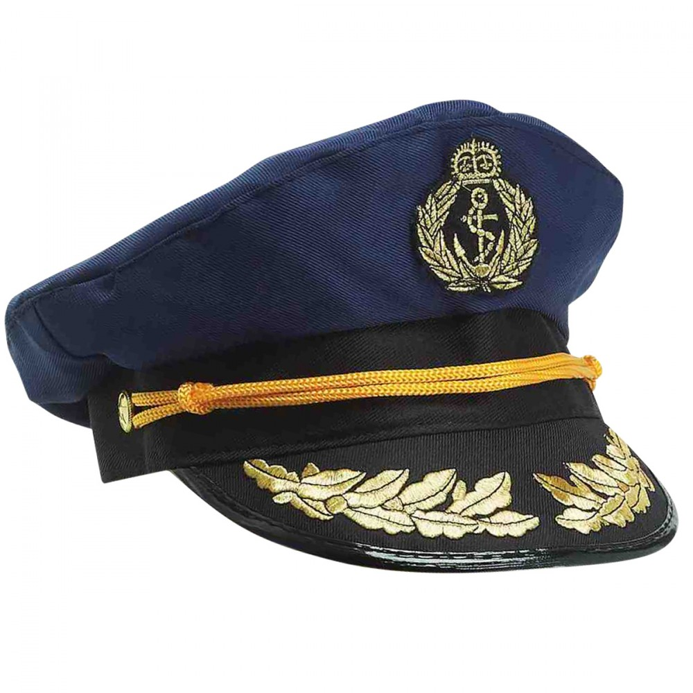 SAILOR CAPTAINS HAT - NAVY