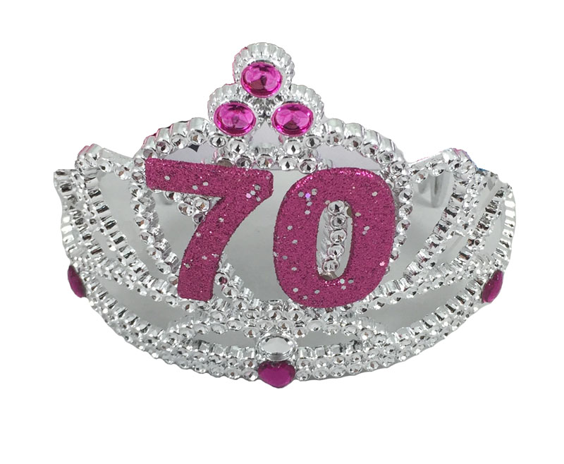 TIARA 70TH BIRTHDAY