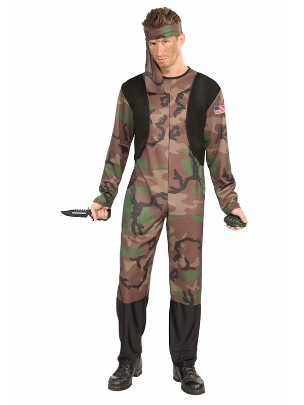 ARMY GUY SPECIAL FORCES COSTUME
