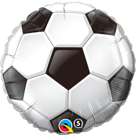FOIL BALLOON - SOCCER BALL