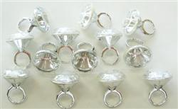 PARTY FAVOURS - DIAMOND RINGS PACK OF 6