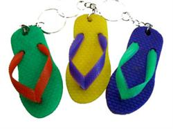 PARTY FAVOURS - FLIP FLOP KEYCHAINS
