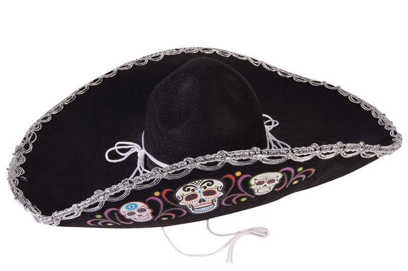 Image of Mexican Day Of The Dead Sombrero