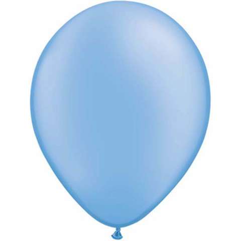 BALLOONS LATEX - NEON BLUE PACK OF 25