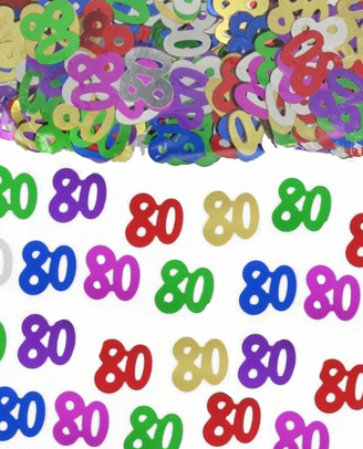 TABLE SCATTERS - 80TH MULTIES
