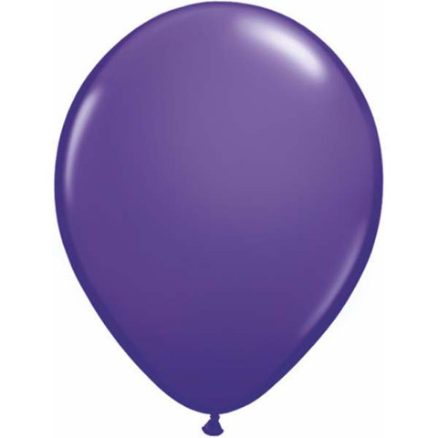 BALLOONS LATEX - VIOLET FASHION TONE PACK OF 25