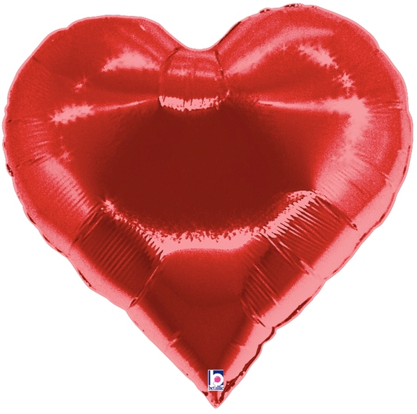 FOIL SUPER SHAPE BALLOON - CASINO SUITE HEART