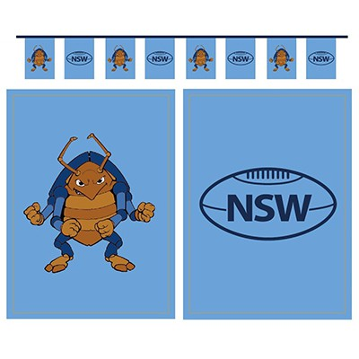 FLAG BANNER NSW COCKROACH